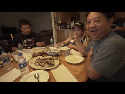 Hmong Cooking   How To Cook Fish: Striped And White Bass - OOW Outdoors