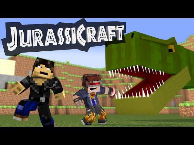 JurassiCraft Mod : Minecraft Mod Showcase