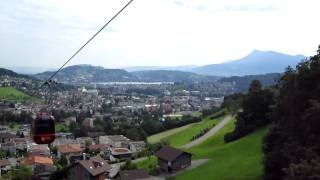 Cable Car in Luzern, Switzerland Thumbnail