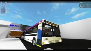 Roblox 10TC NIS BUS AND RIDE ON ROUTE 25