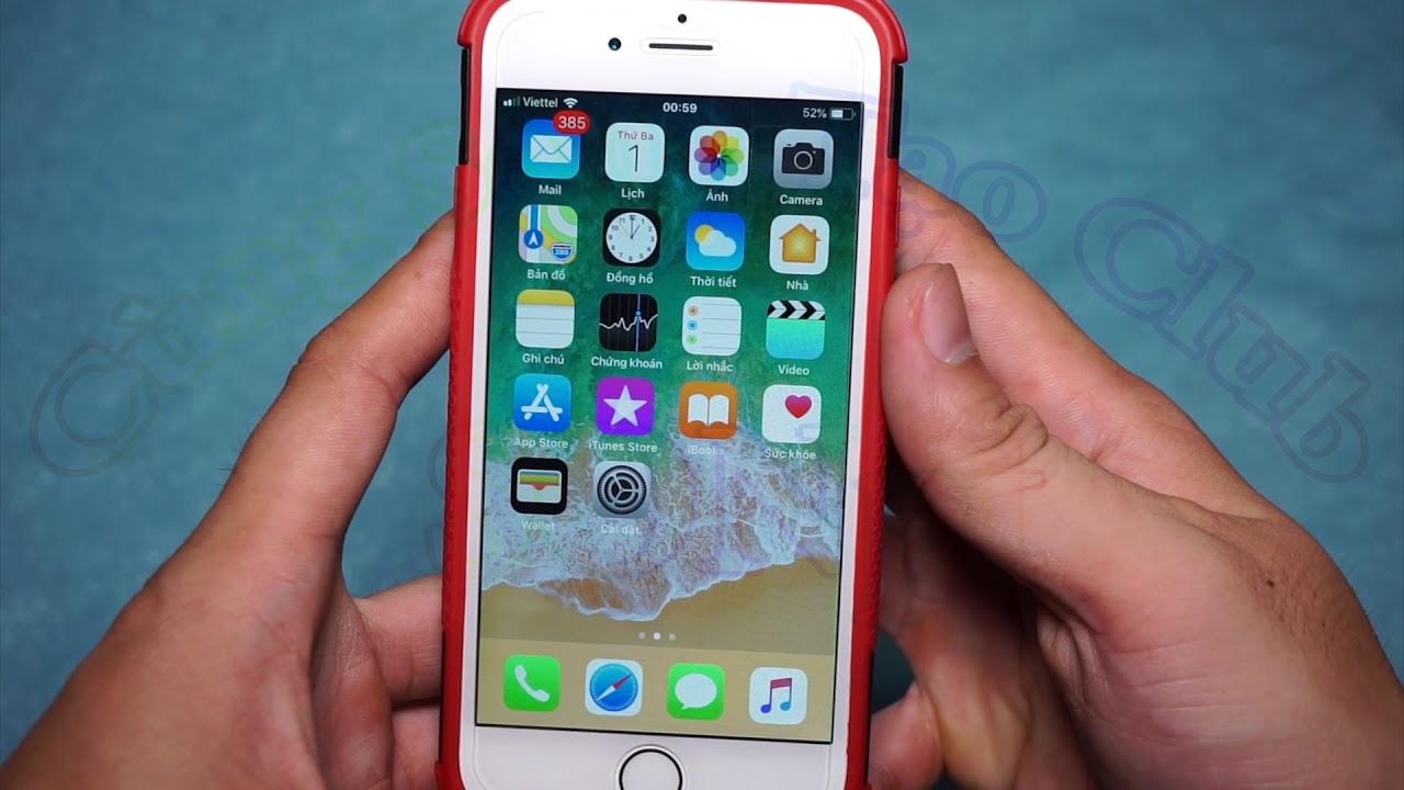 Hướng dẫn chụp ảnh màn hình iPhone không cần phần mềm ✅ Phần 1