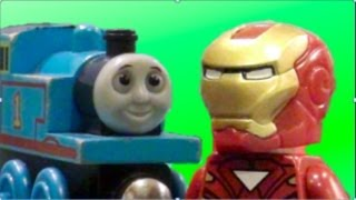Thomas vs. Iron Man - A Lego Stop-Motion Short Film