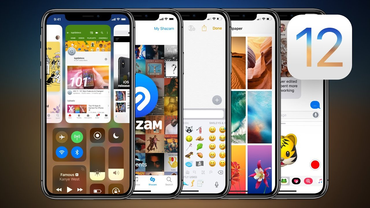 Ios 12 Concept 5 More Features Youtube
