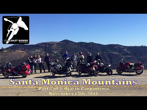 Cal Coast Riders MC - Santa Monica Mountains, Part 2 of 3, November 13th 2016