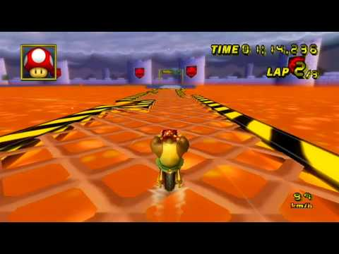 【MKW WR】GBA Bowser Castle 3: 1:58.188