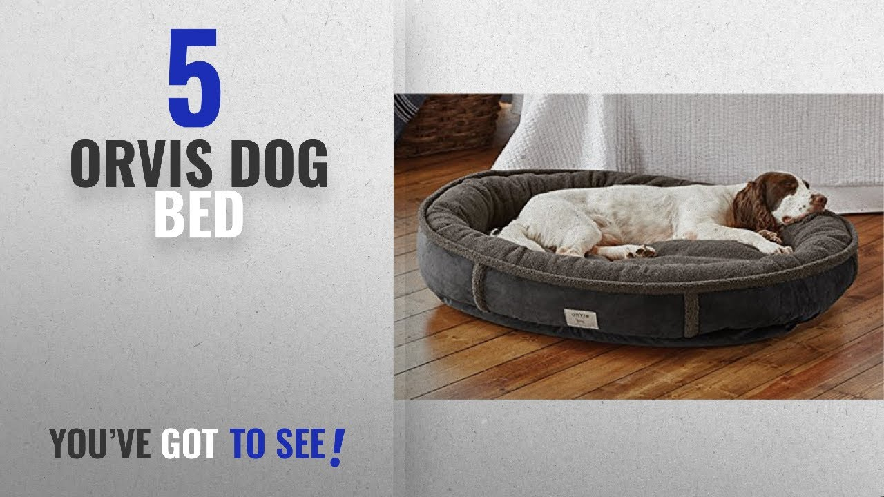 Top 5 Orvis Dog Bed [2018 Best Sellers]: Orvis Wraparound Dog Bed/Large  Dogs 50-80 Lbs, Slate