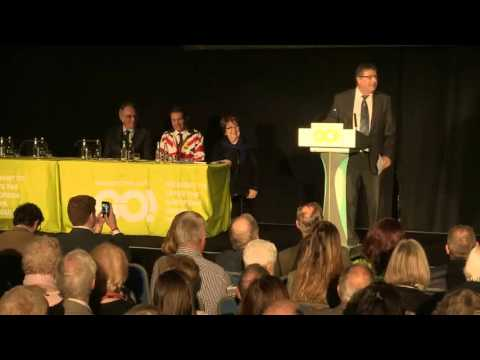Sammy Wilson MP at the Grassroots Out launch