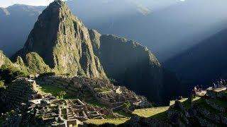 Sunrise on the Machu Picchu