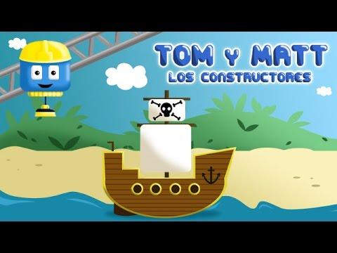barco pirata tom u matt los vehculos juegos de construccin para nios