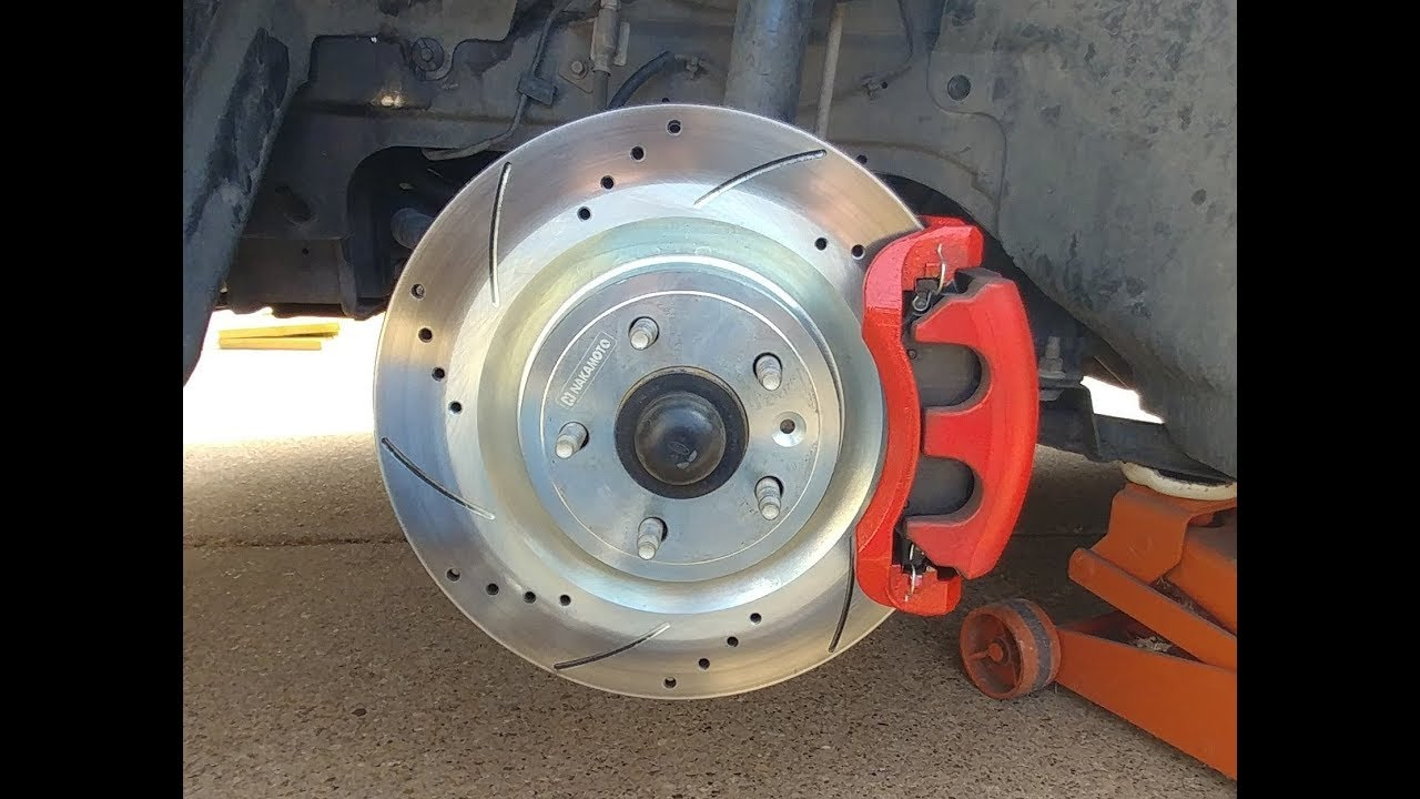 Front Rear Rotors Ceramic Pads For 2005 2006 2007-2010 MUSTANG GT BULLITT