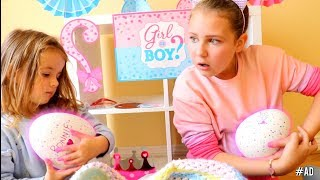 Ruby & Bonnie Pretend Play with EGG Surprise Toy Delivery!! Hatchimals HatchiBabies