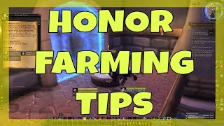 Honor Farming Tips Tricks | World of Warcraft Legion