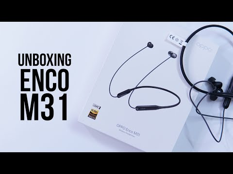 OPPO Enco M31 Unboxing, Feature Overview - Sports Neckband Bluetooth Earphones for Rs. 1999