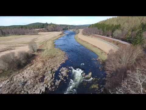 Growing up in Aberdeenshire - phantom 4 drone