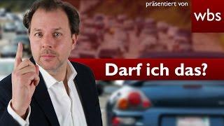 Darf ich Drängler auf der Autobahn ausbremsen? | Rechtsanwalt Christian Solmecke
