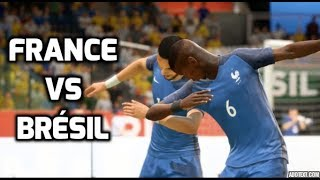 France vs Brésil FIFA 18 Difficulté Légende Gameplay PC