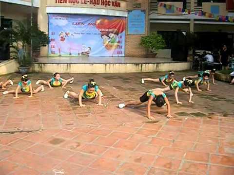 Thể dục nhịp điệu nhi đồng 2011
