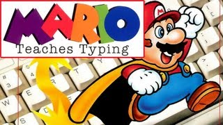 LGR - Mario Teaches Typing - DOS PC Game Review