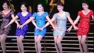 朝鮮牡丹峰樂團 超短迷你裙美女5重唱 《學習吧》 high爆全場