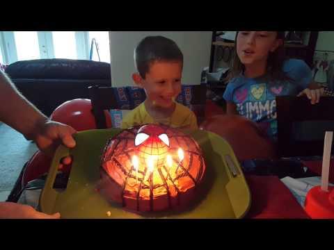 Jack's Spiderman Birthday Cake