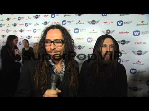 INTERVIEW - Korn on the event at Warner Music Group GRAMM...