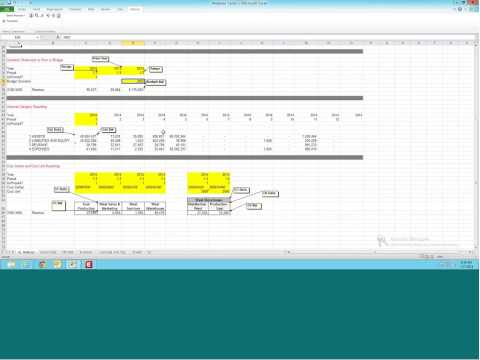 Financial Reporting:  Excel Add In