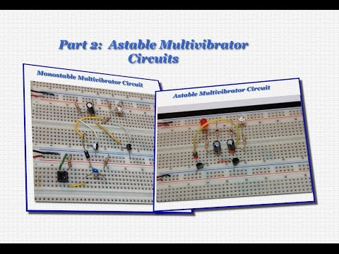 Multivibrator Circuits with LEDs- Part 2