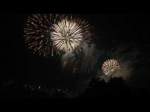 1.August 2016 Feuerwerk Basel am Vorabend