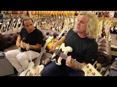 Grant Geissman, Tim Pierce, Jason Sinay & Jason Scheff again at Norman's Rare Guitars