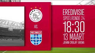 AJAX 2 PEC Zwolle 1 (13/03/2019)