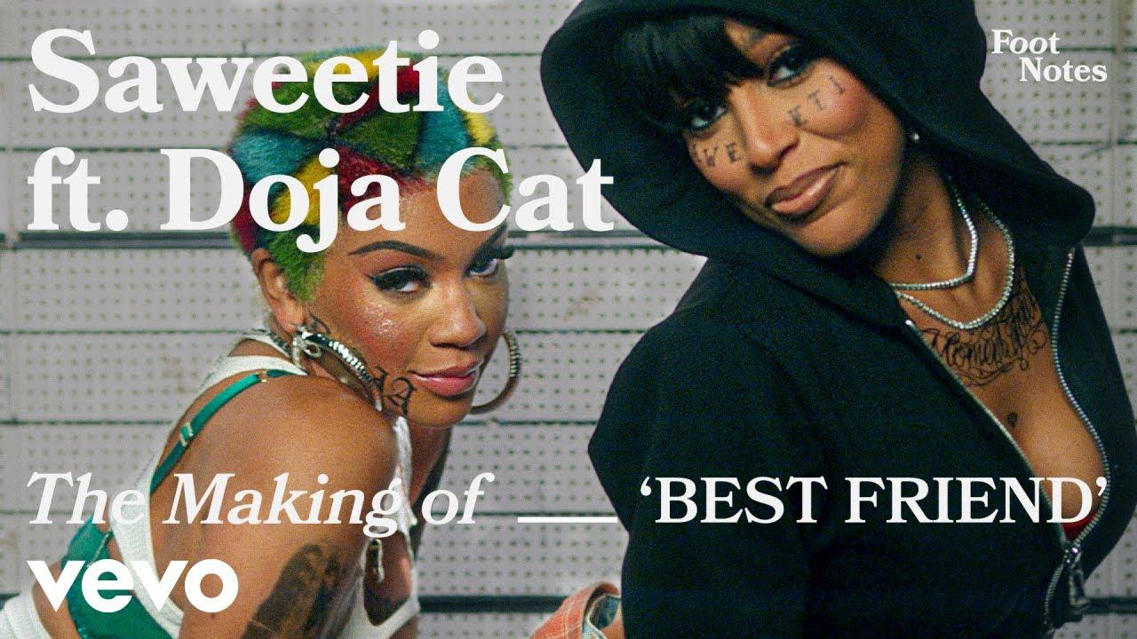 Download Saweetie - The Making of 'Best Friend' | Vevo Footnotes ft. Doja Cat