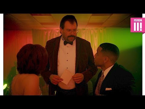 Reggie and Sharon Osbourne's awkward moment - Murder in Successville: Series 3 Episode 4 - BBC Three