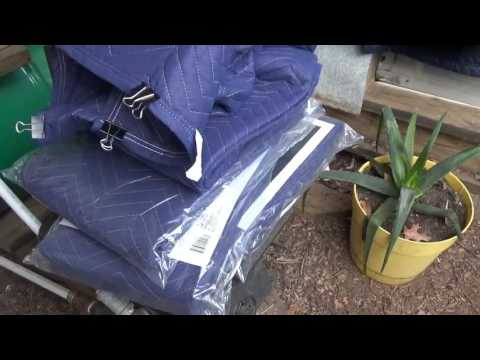 DIY Greenhouse Curtains ~ Emergency House Repair & More
