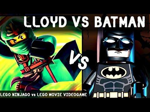 Lloyd vs batman lego battles fights walki lego ninjago - Ninjago vs ninjago ...