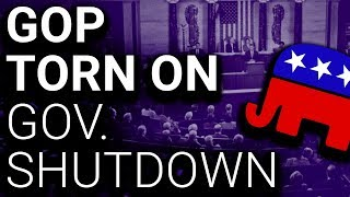 Trump Rejects Shutdown Deal Republicans Negotiated with Republicans