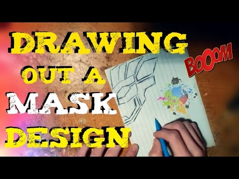 D.I.Y Mask Design | Drawing your Concept