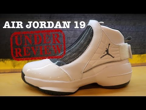 tout neuf d8fe5 d1732 AIR JORDAN 19 XIX FLINT OG RETRO 2018 SHOE DETAILED HONEST REVIEW  #sneakernews #jumpman