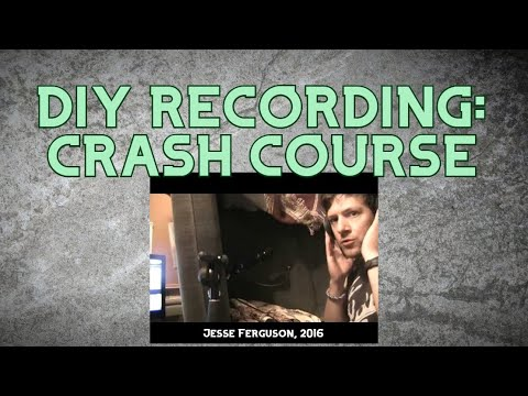 Cheap and Easy Home Music Recording: Crash Course