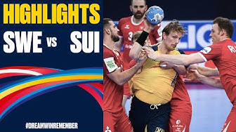 Sweden vs. Switzerland Highlights | Day 2 | Men's EHF EURO 2020