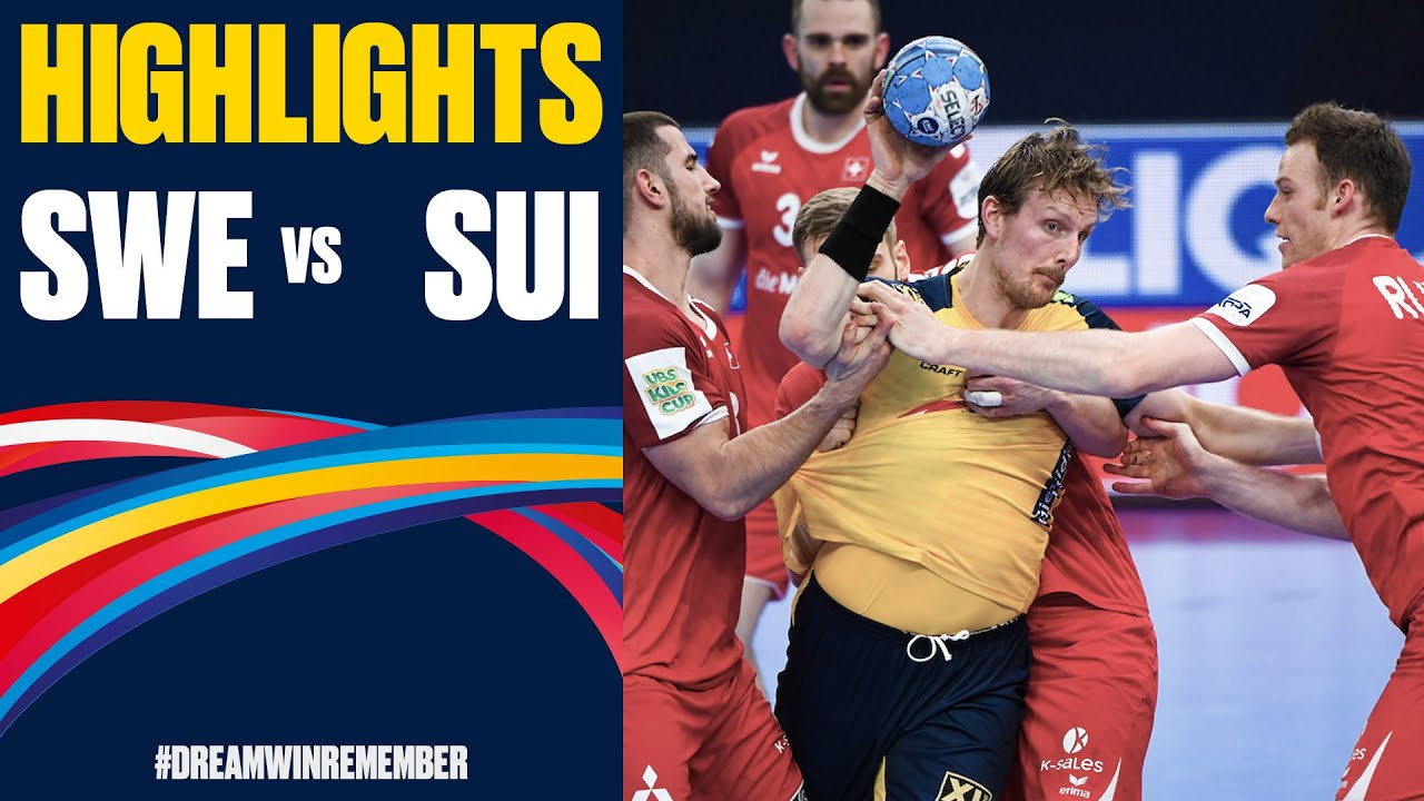 Sweden Vs Switzerland Highlights Day 2 Men S Ehf Euro 2020
