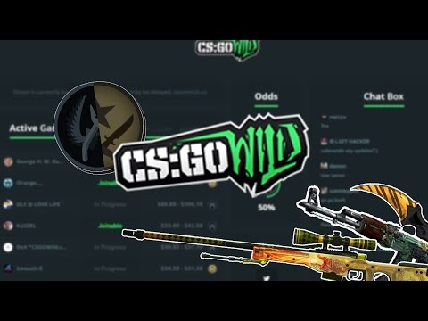 CSGO WILD! FREE $$ CODE! $20 to a knife challenge #1