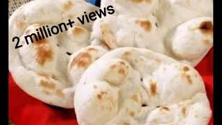 Restaurant Style Tandoori Roti On Tawa