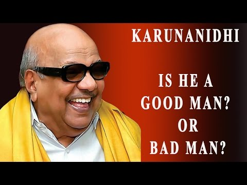 Karunanidhi - Is He a Good Man? Or Bad Man? Public Opinion -RedPix 24x7  -~-~~-~~~-~~-~- Please watch: