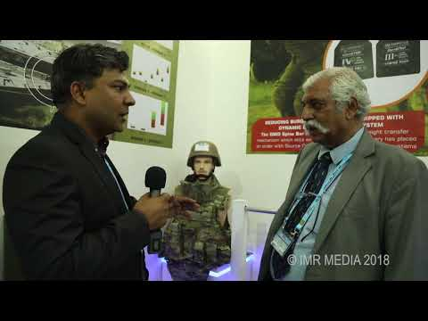 Ballistic Protection Solutions from SM Group at DEFEXPO 2018