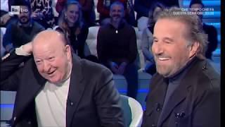 """Christian De Sica: """"vi Racconto Il Segreto Del Mio Matrimonio""""   Domenica In 16/12/2018"""