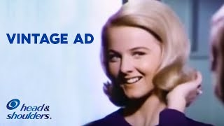 Focus on Beautiful Hair & Forget about Dandruff Problems | Head & Shoulders Vintage Ads