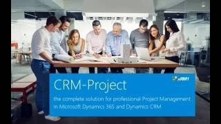 Projektmanagement in Microsoft Dynamics 365 and Dynamics CRM