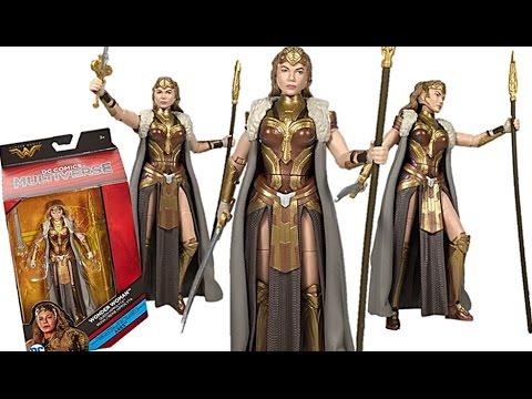 Mattel DC Multiverse Wonder Woman Movie Series Queen Hippolyta (Ares C&C Wave) Figure Review