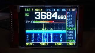 видео НЧ плата радиолюбительского трансивера.