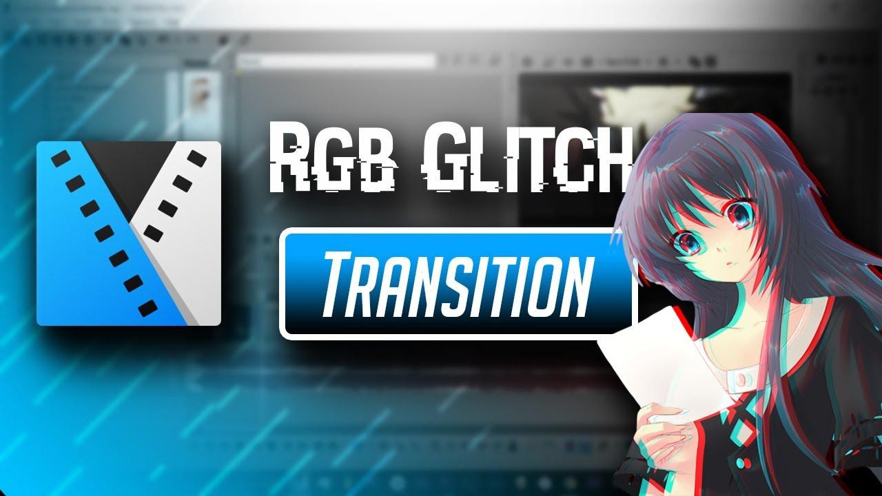 Sony Vegas | AMV Tutorial- RGB Glitch Transition